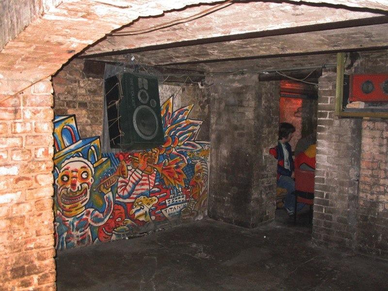 Berlin 90ties Freitag´s Bar cellars