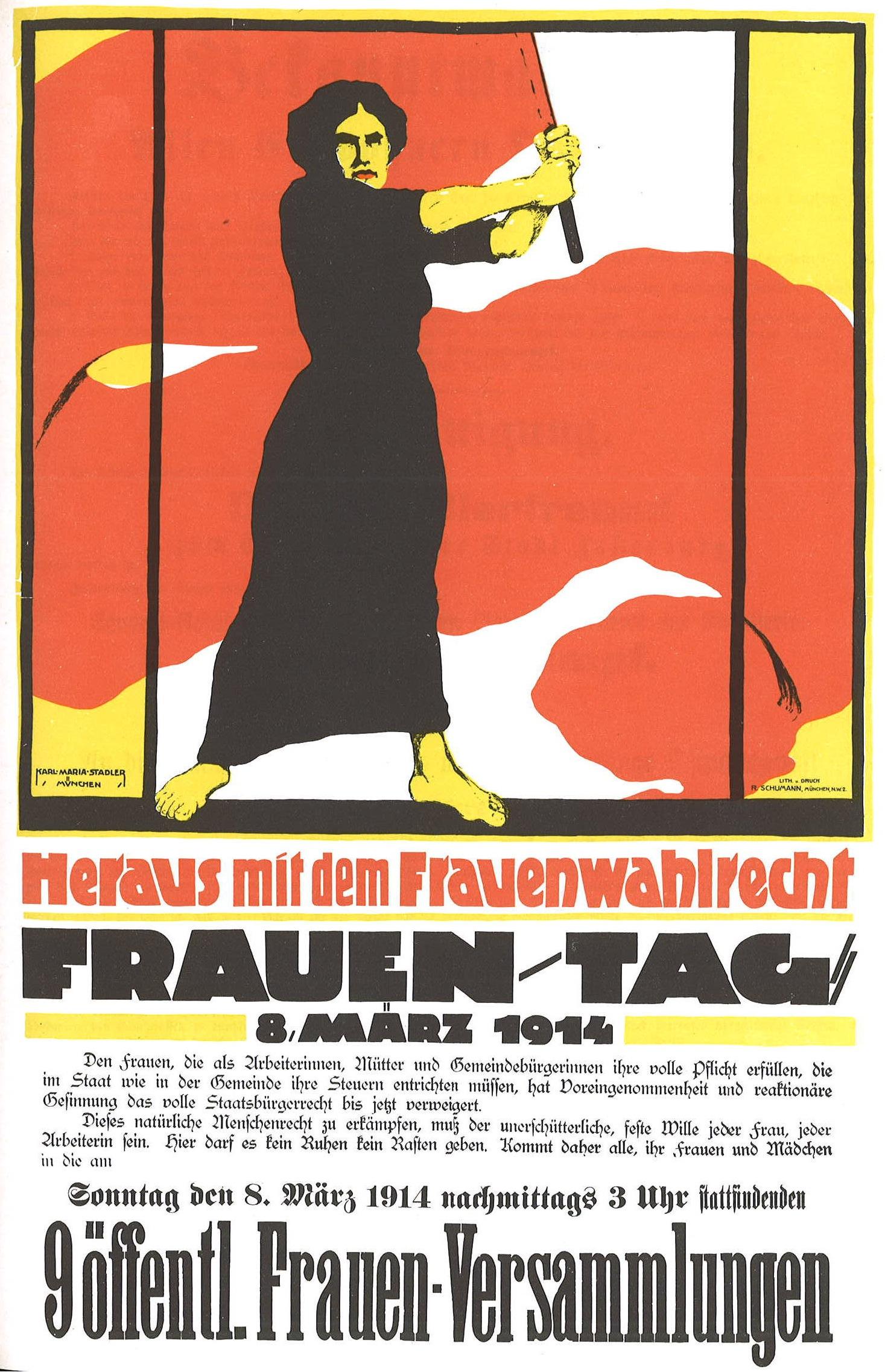 Frauentag_1914_Heraus_mit_dem_Frauenwahlrecht
