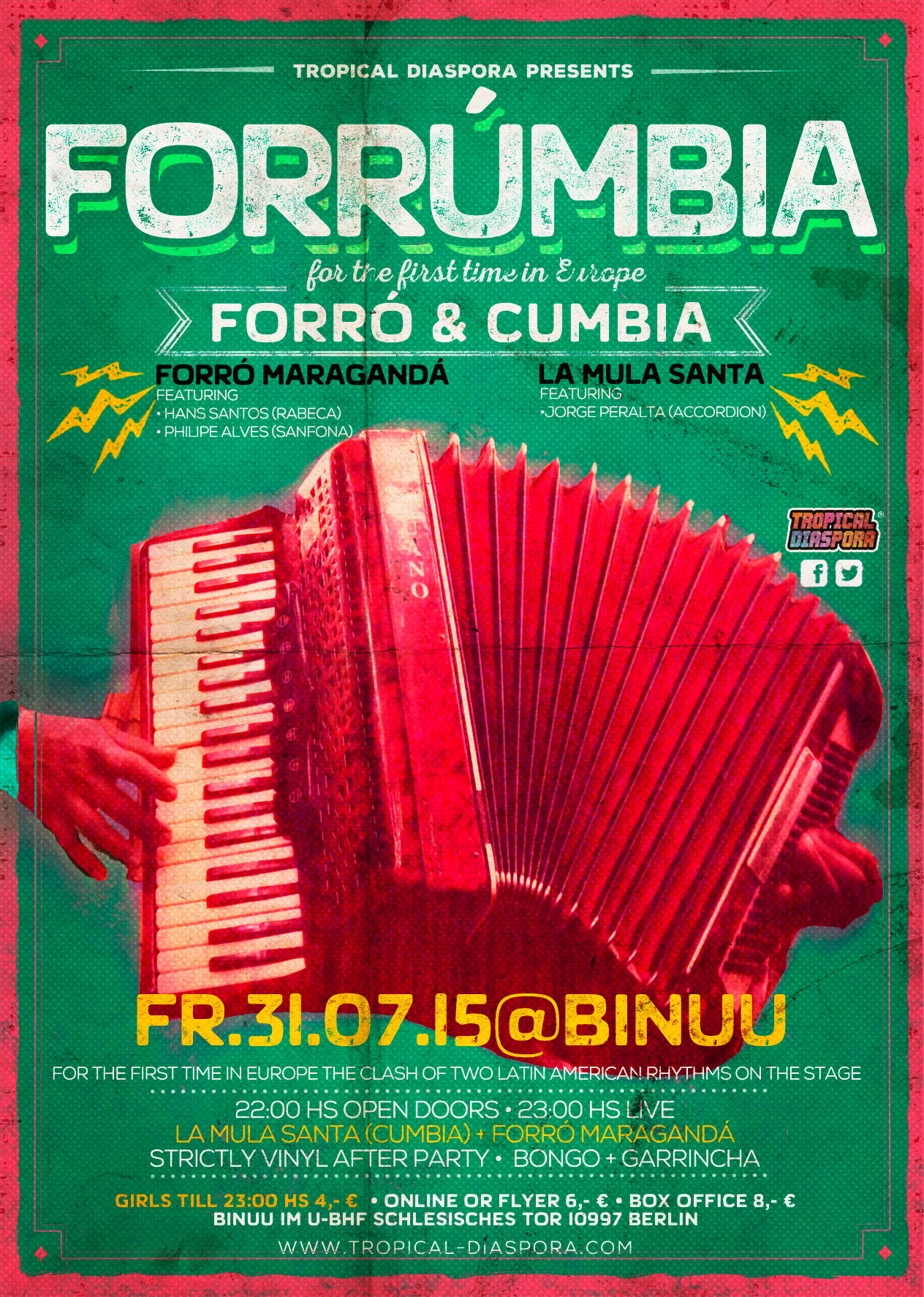 Forrúmbia Poster