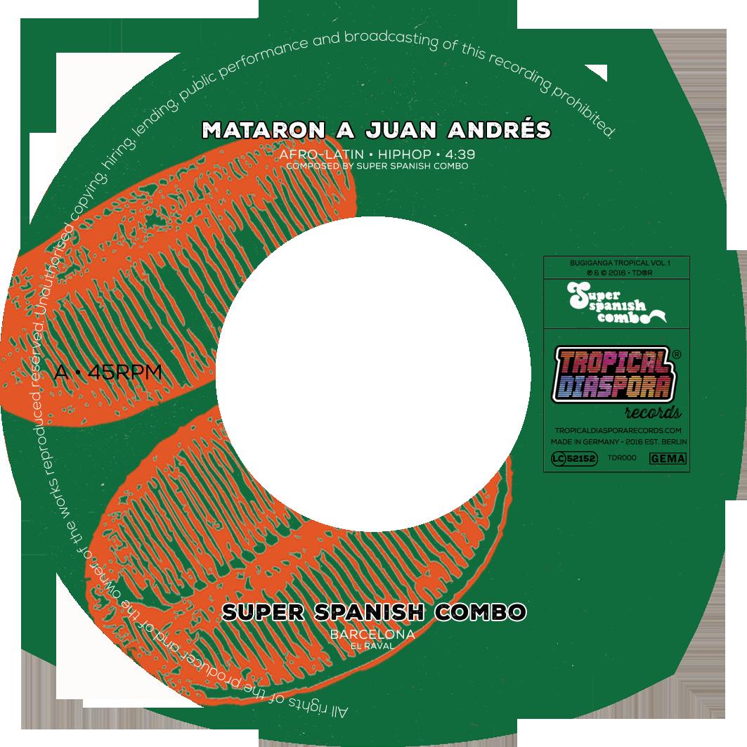Vinyl 7inch Etikett SIDE A v3