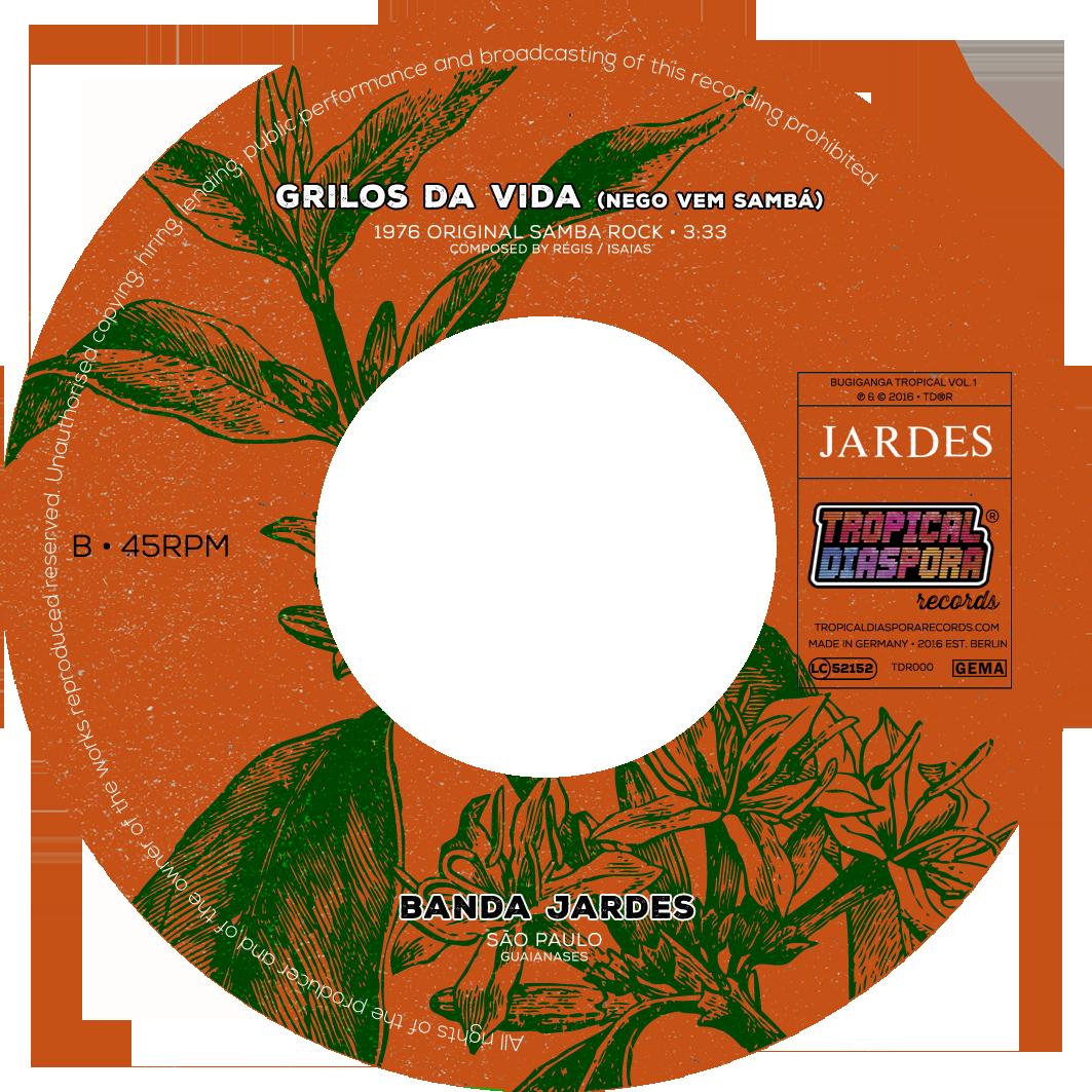 Vinyl 7inch Etikett SIDE B v3